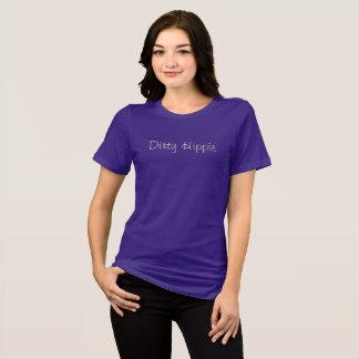 Dirty Hippie Ladies Cream Print T-Shirt