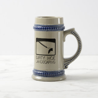 Dirty Hoe Lanscaping Beer Steins