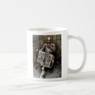 dirty man basic white mug
