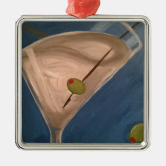 Dirty Martini Christmas Ornament