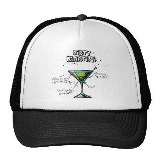 Dirty Martini Cocktail Recipe Cap