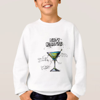 Dirty Martini Cocktail Recipe Sweatshirt