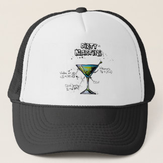 Dirty Martini Cocktail Recipe Trucker Hat