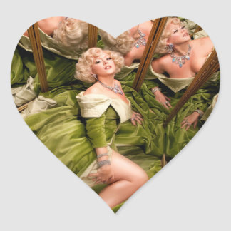 Dirty Martini official heart sticker