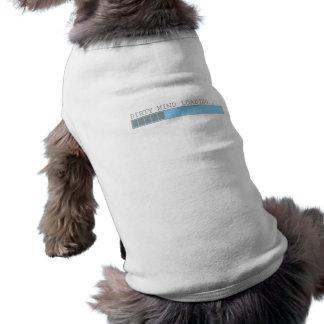 Dirty mind loading funny men boys and girls humor sleeveless dog shirt