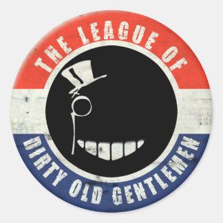 Dirty Old Gentlemen Button Sticker