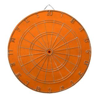 Dirty Orange Dartboard