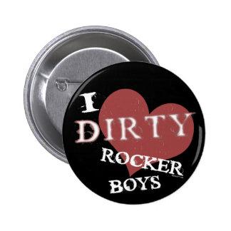 Dirty Rocker Boys Blk Button
