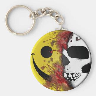 dirty smiley keychains