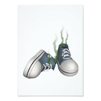 Dirty Sneakers 13 Cm X 18 Cm Invitation Card
