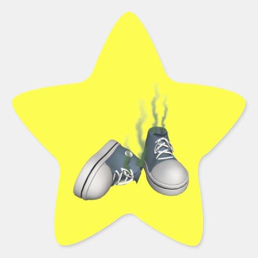 Dirty Sneakers Sticker