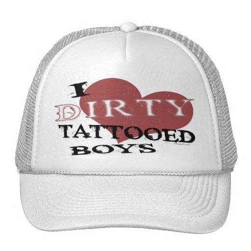 Dirty Tattooed Boys 2 hat