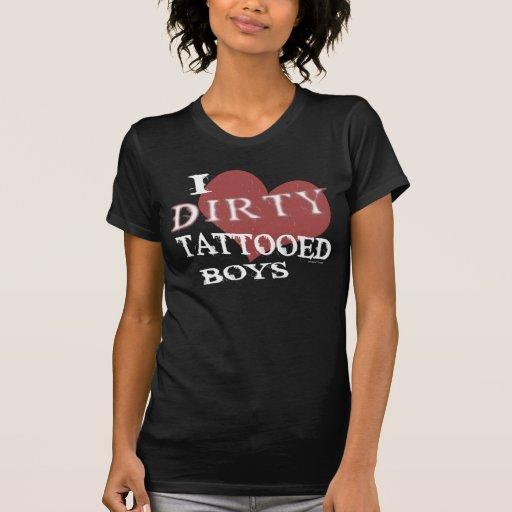 Dirty Tattooed Boys (Dark) Shirt