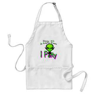 Dirty Thirty Apron