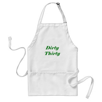 Dirty Thirty Aprons