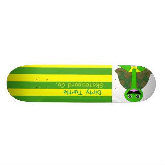 Dirty Turtle Flag Deck Skate Boards
