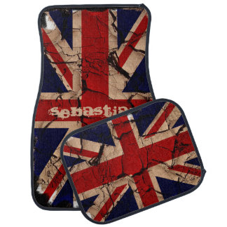 Dirty Vintage UK Union Jack British Flag Car Mat