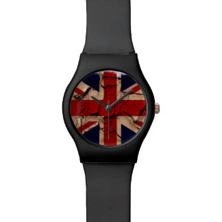 Dirty Vintage UK Union Jack Flag Watch