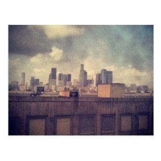 dirty window LA Postcard