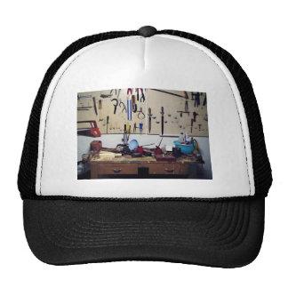 Dirty workbench mesh hats