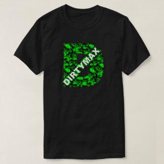 Dirtymax GREEN SKULLS T-Shirt
