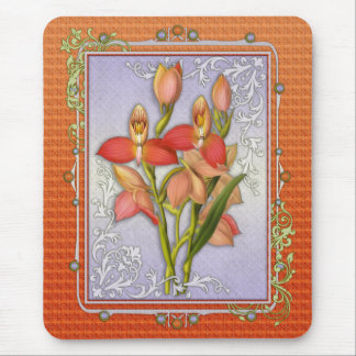 Disa Grandiflora Orchid Mouse Pads