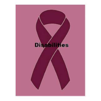 Disabilities Postcard