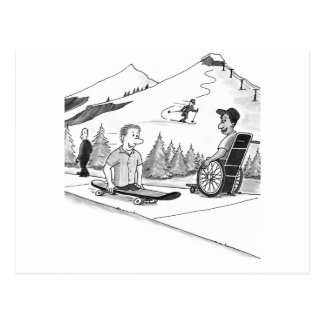 Disability Ability Post Card