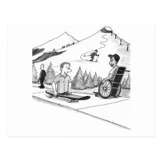 Disability Ability Postcard