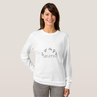 Disability Awareness Gift Wheelchair Funny T-Shirt