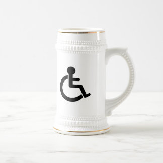 Disability Disabled  Symbol Coffee Mugs