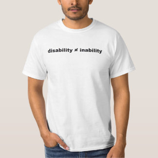 Disability Math T-Shirt