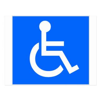 Disability Symbol Postcard