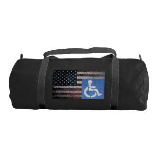 Disabled American Veteran Gym Duffel Bag