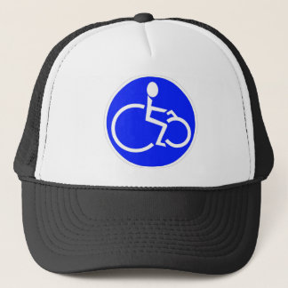 disabled biker products trucker hat