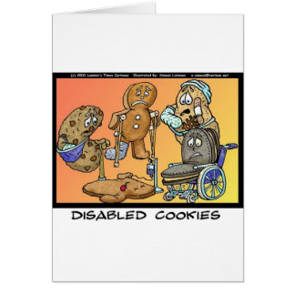 Disabled Cookies Funny Gifts Collectibles Cards