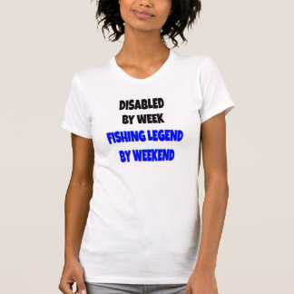Disabled Fishing Legend T Shirt