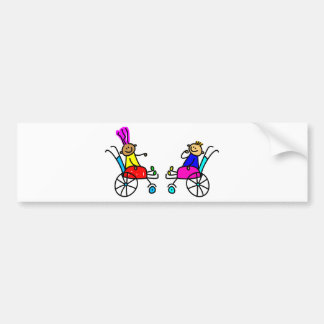 Disabled Kids Bumper Sticker