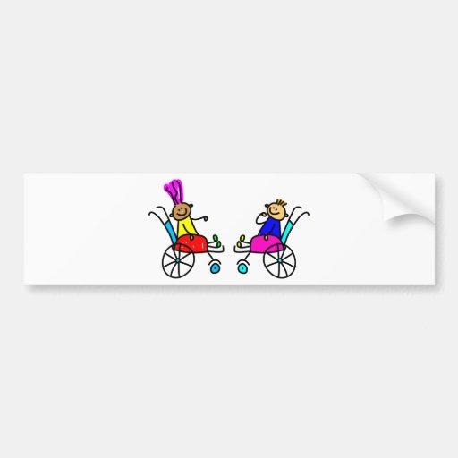 Disabled Kids Bumper Sticker