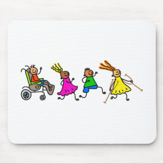 Disabled Kids Mouse Pad
