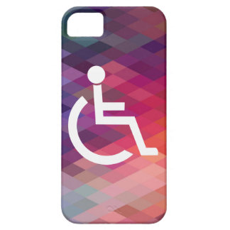 Disabled Persons Graphic Barely There iPhone 5 Case