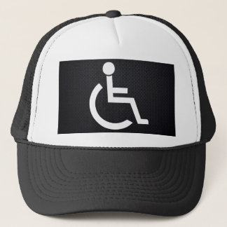 Disabled Persons Graphic Trucker Hat