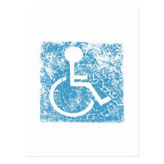 Disabled Postcard