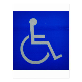 disabled sign.JPG Post Cards
