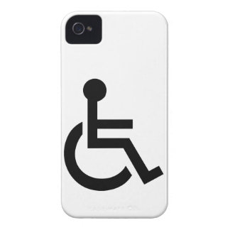 Disabled Symbol iPhone 4 Case-Mate Cases
