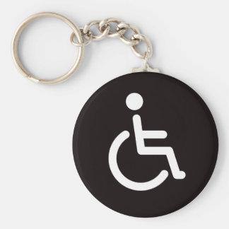 Disabled symbol key ring