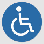 Disabled symbol sticker