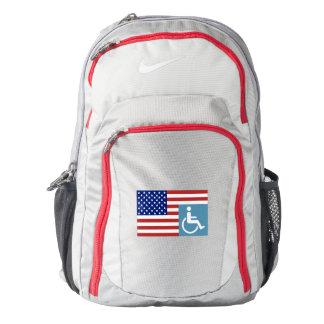 Disabled US Veteran Backpack