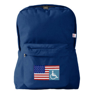Disabled US Veteran Backpack