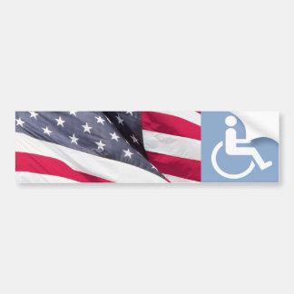 Disabled Veteran. Car Bumper Sticker